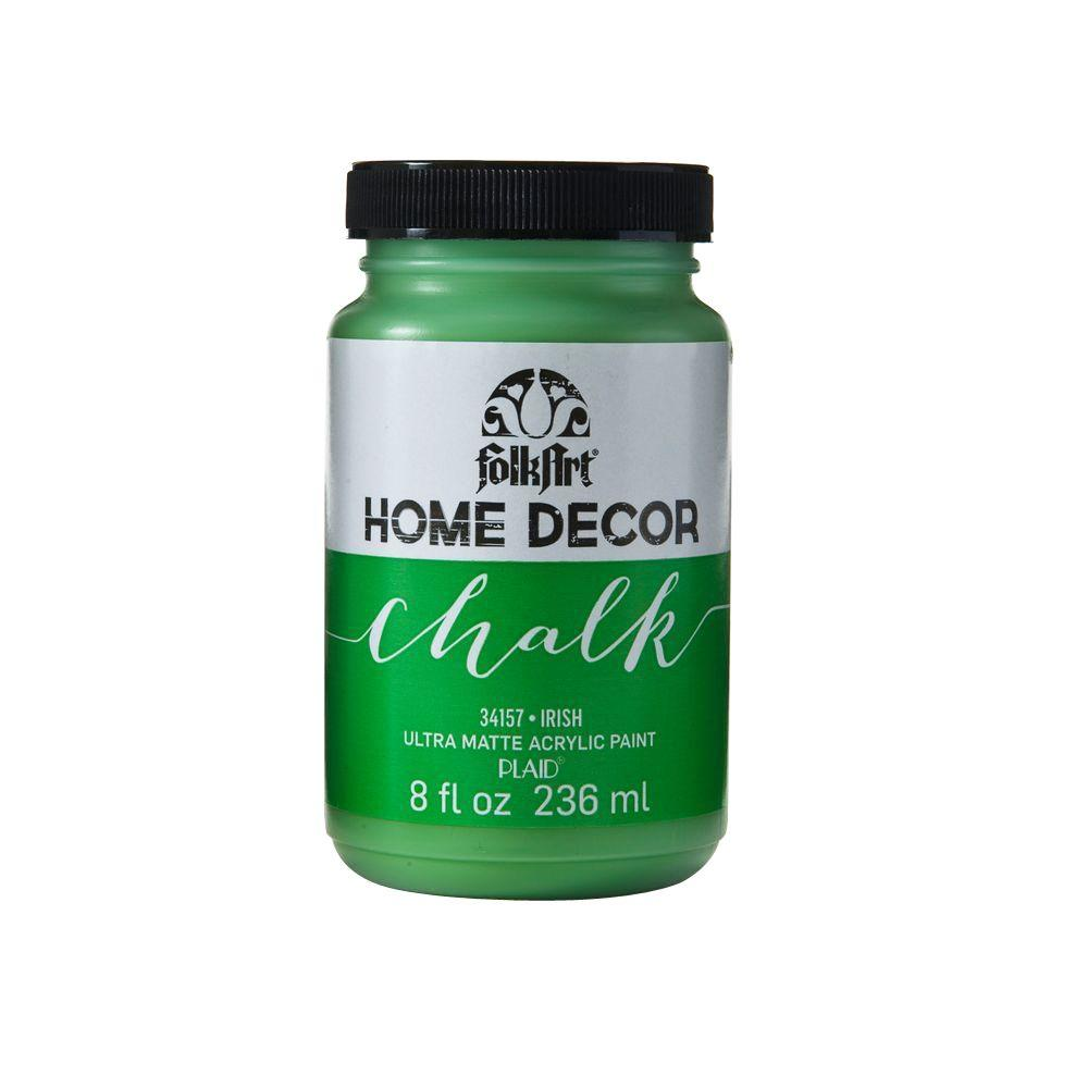 FolkArt Home Decor 8 oz. Irish Ultra-Matte Chalk Finish Paint