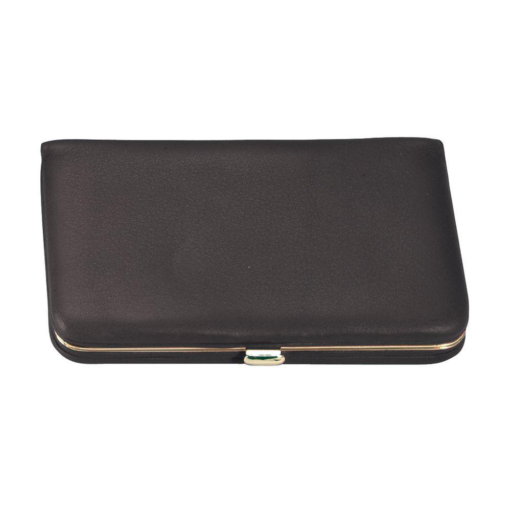 Royce Burgundy Executive Business Card Case Wallet in Genuine ...