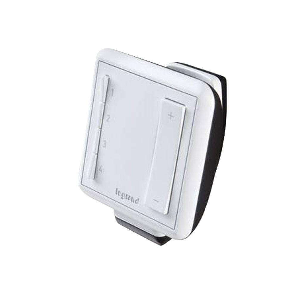 Led Remote Control Dimmers Wiring Devices Light Controls 3 Way Ir Dimmer Switch Wireless Multi Location Handheld White
