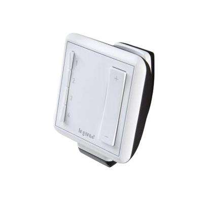 Wireless Multi-Location Handheld Remote Dimmer, White
