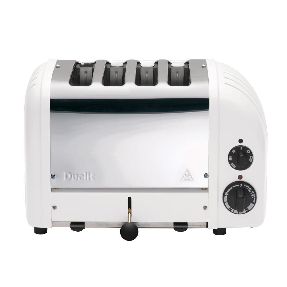 NewGen 4-slice White Toaster