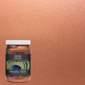 Modern Masters 1 Qt Copper Matte Metallic Interior Paint Mm19532 The Home Depot