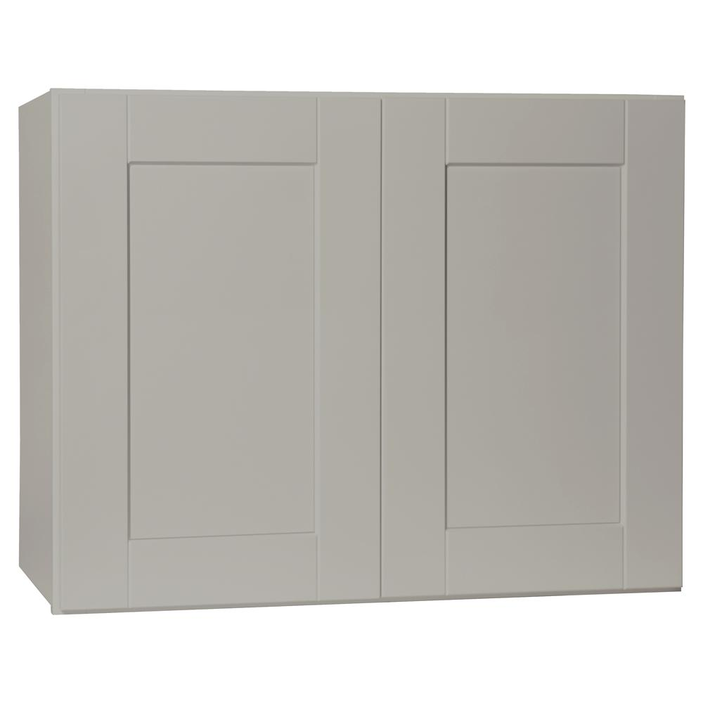 Hampton Bay Shaker Assembled 30x23.5x15 In. Wall Bridge
