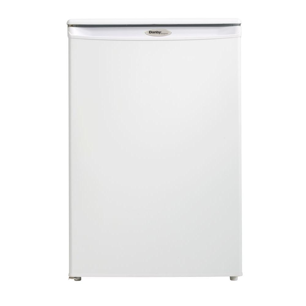4.3 cu. ft. Manual Defrost Upright Freezer in White