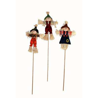 15 in. Scarecrow Pick (Set of 12)