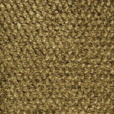 Caserta Stone Beige Hobnail Texture 18 in. x 18 in. Indoor/Outdoor Carpet Tile (10 Tiles/Case)