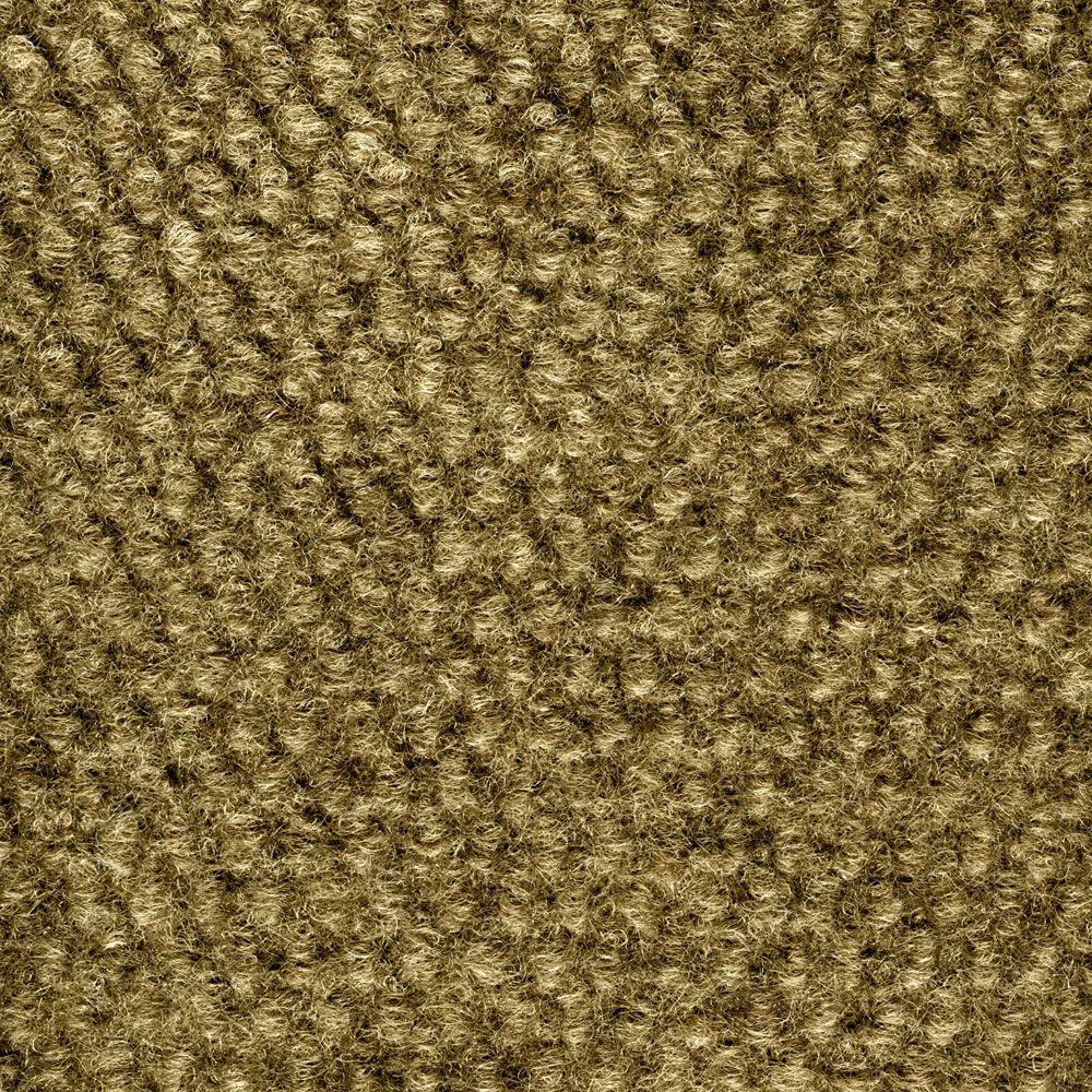 Caserta Stone Beige Hobnail Texture 18 in. x 18 in. Indoor/Outdoor Carpet Tile (10 Tiles/Case)