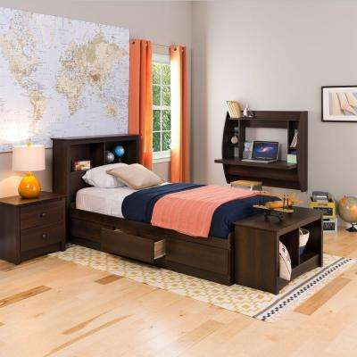 Fremont Twin Wood Storage Bed
