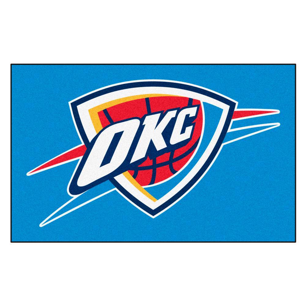 Oklahoma City Thunder 5 ft. x 8 ft. Ulti-Mat
