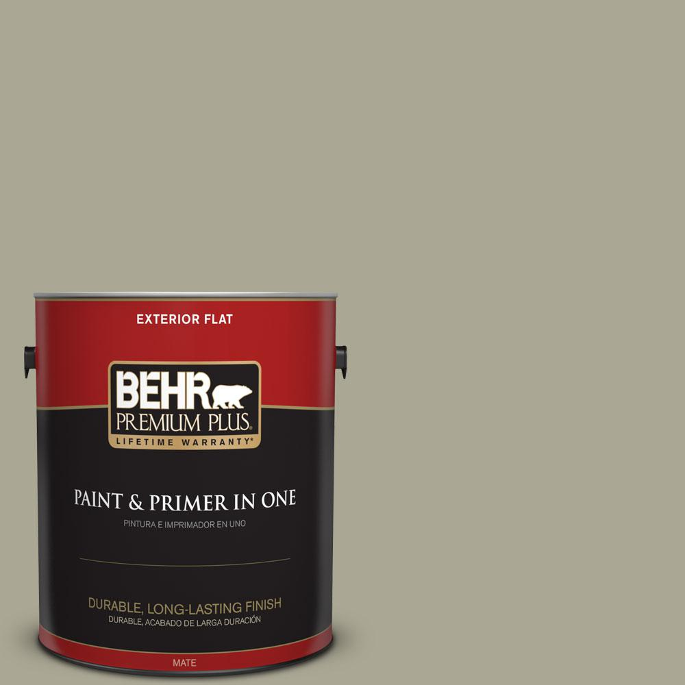 1-gal. #N350-4 Jungle Camouflage Flat Exterior Paint