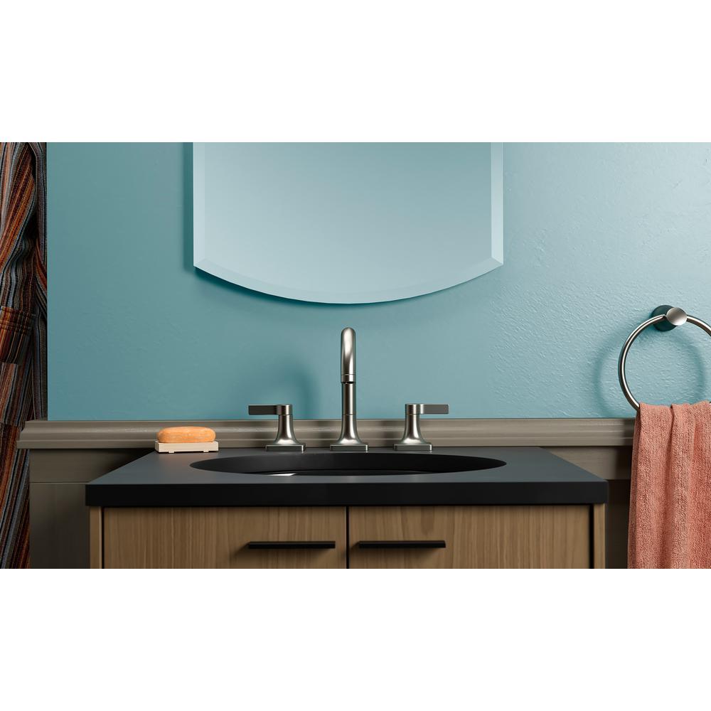 Venza 8 in. Widespread 2-Handle Bathroom Faucet in Vibrant Brushed Nickel