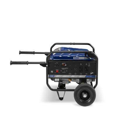 3,000 Watt Gasoline Powered Electric Start Portable Generator with Engine incl. mobility kit