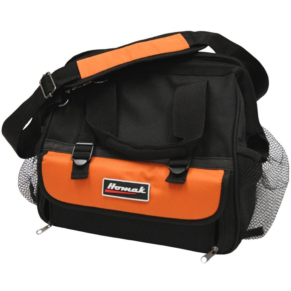 Homak 12 in. Tool Bag with 11-Pocket