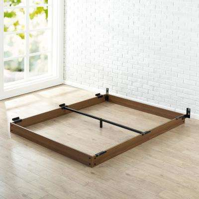 5 in. Full Wooden Bed Frame