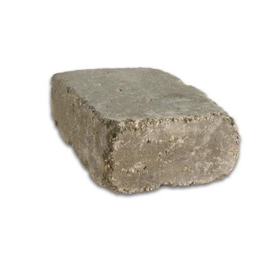 Lakeland I 8 in. L x 12 in. W x 4 in. H Bluestone Tumbled Concrete Garden Wall Block (20-Pieces/6.5 sq. ft./pack)