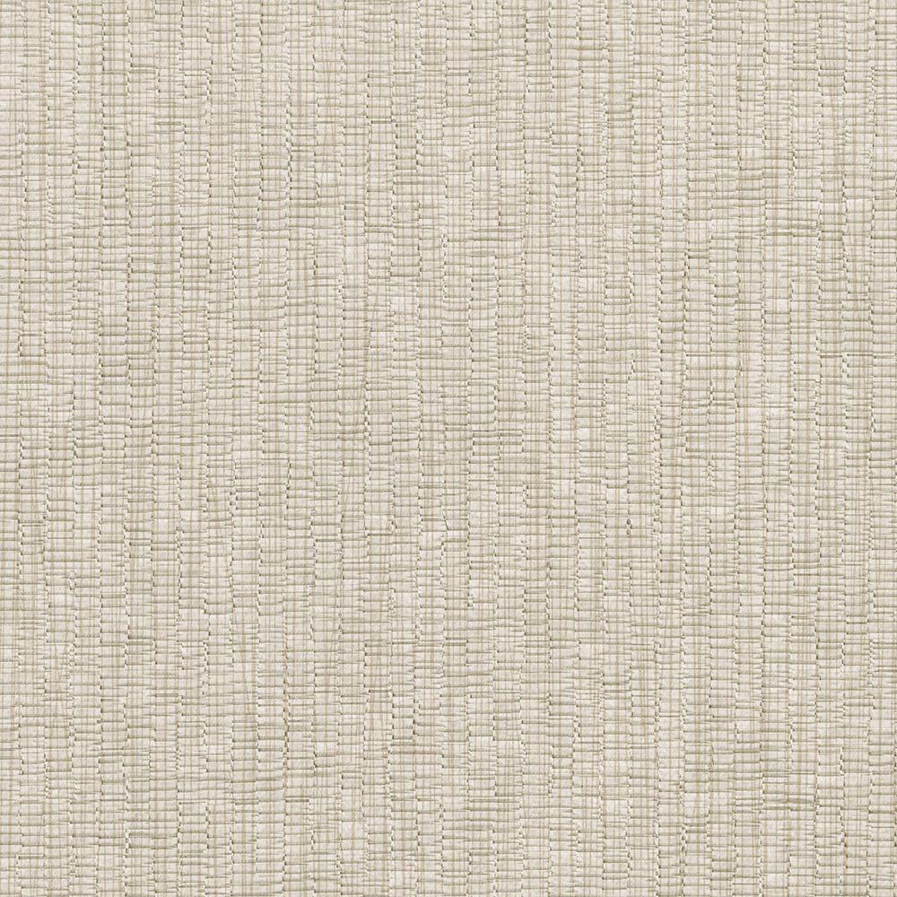 Taupe Raffia Texture Wallpaper Sample