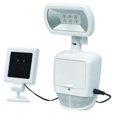 180 Degree White Solar Motion Outdoor LED Security Light