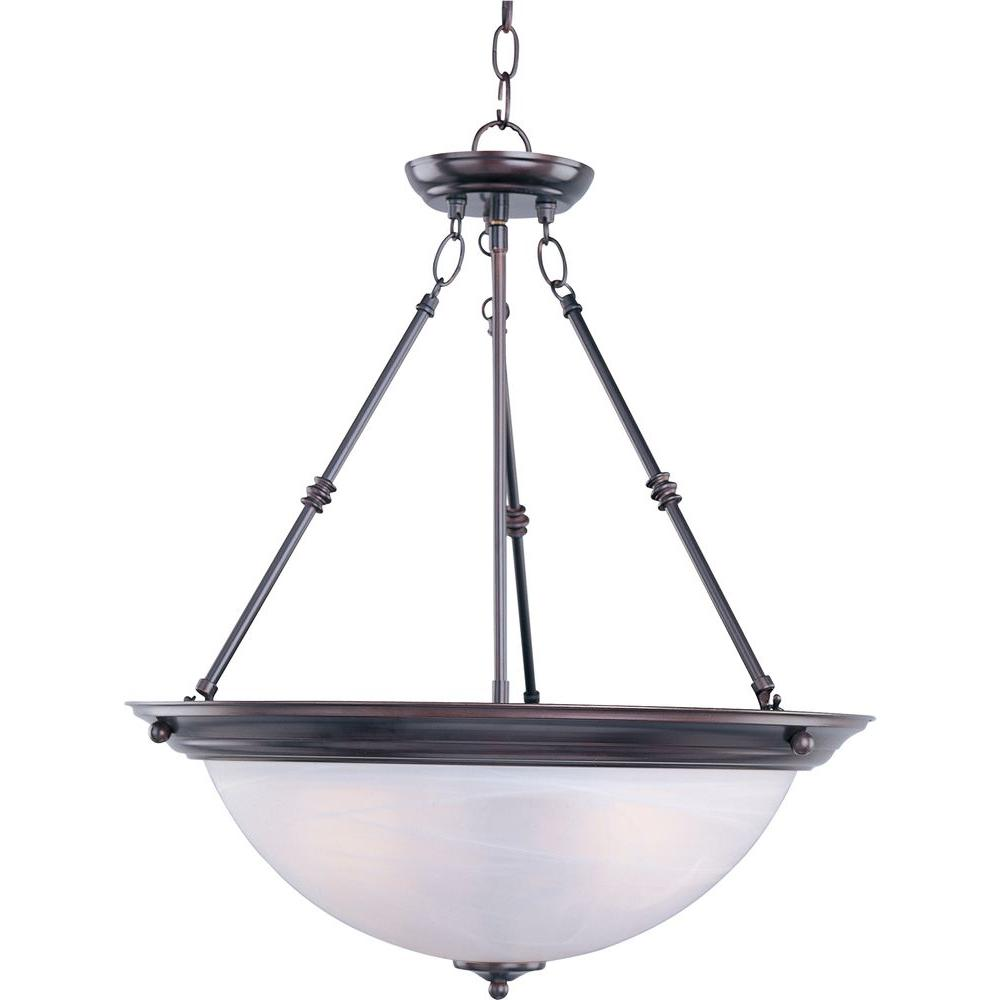 Maxim Lighting Essentials - 584x-Invert Bowl Pendant Maxim Lighting's commitment to both the residential lighting and the home building industries will assure you a product line focused on your lighting needs. With Maxim Lighting you will find quality product that is well designed, well priced and readily a