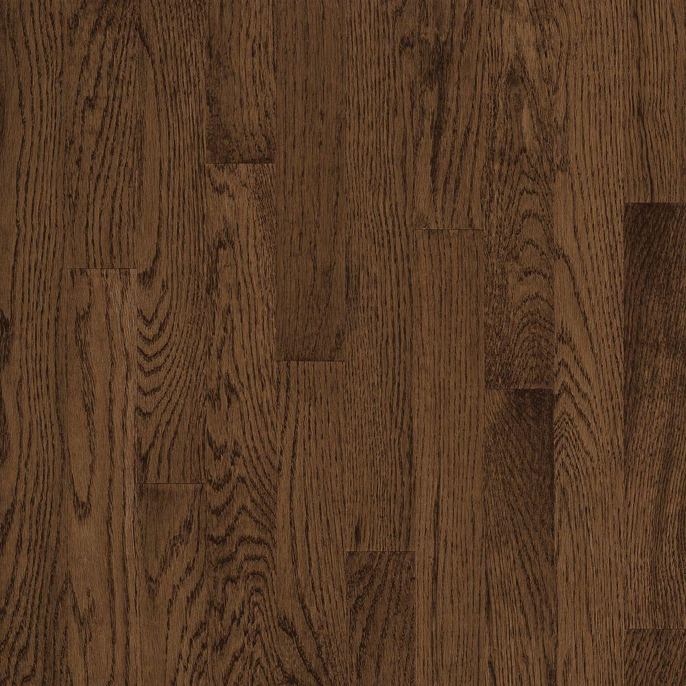 Bruce Natural Reflections Oak Walnut 5 16 In Thick X 2 1