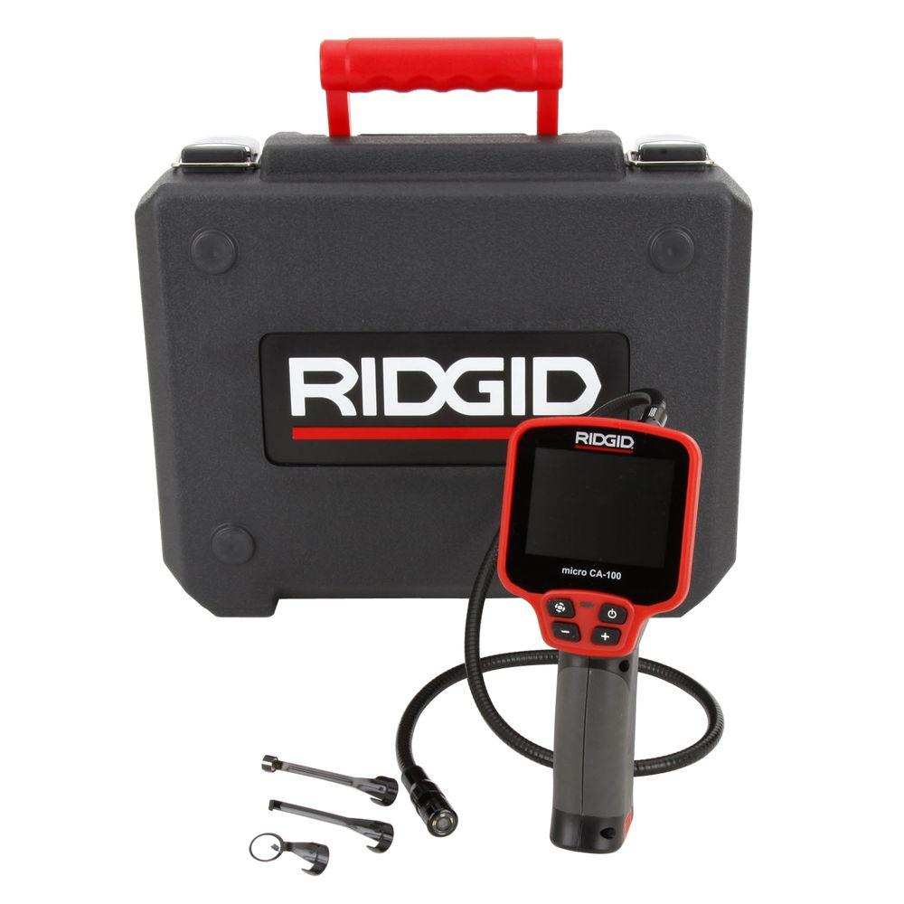 Ridgid Micro Ca 100 Inspection Camera 36738 The Home Depot
