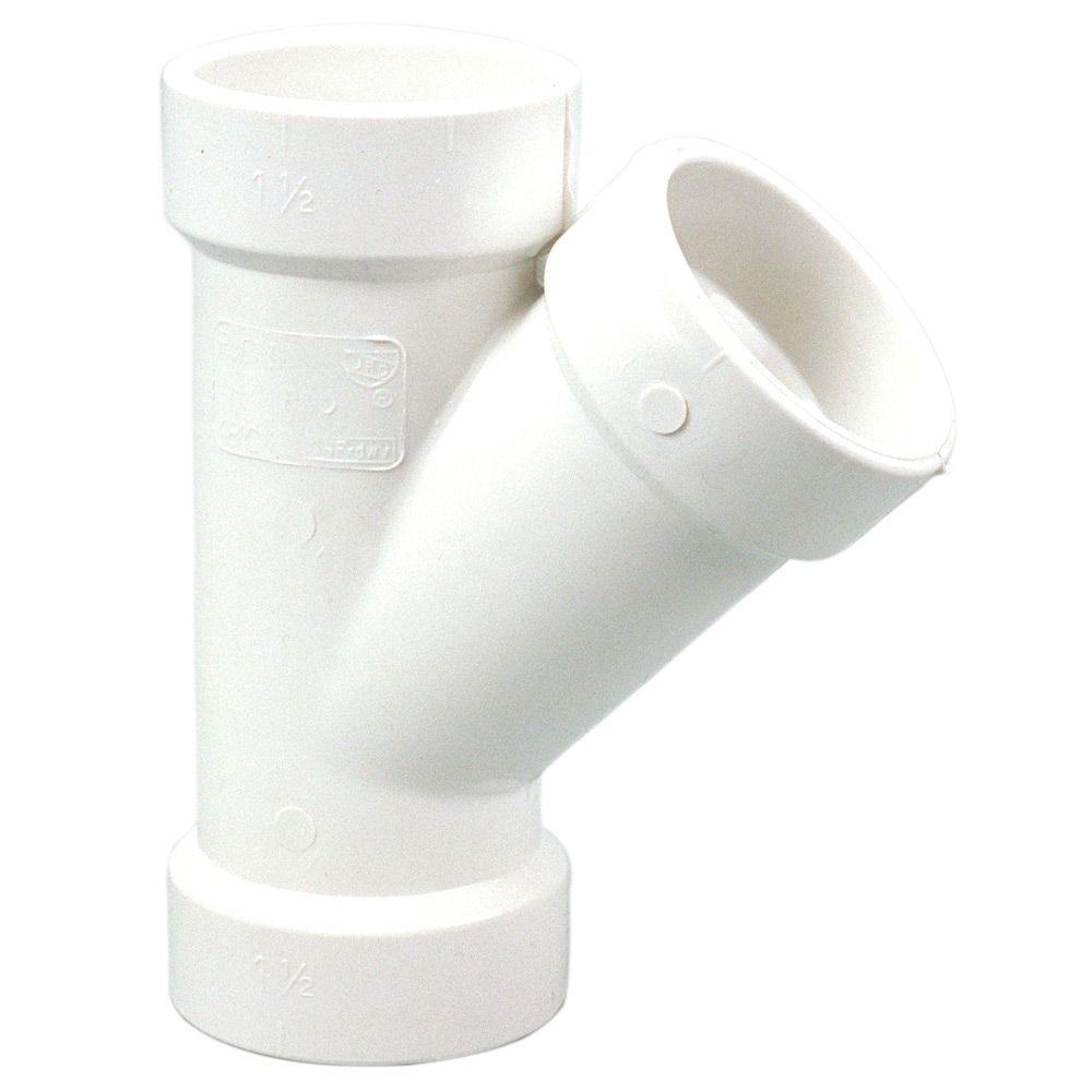1-1/2 in. PVC DWV H x H x H Wye