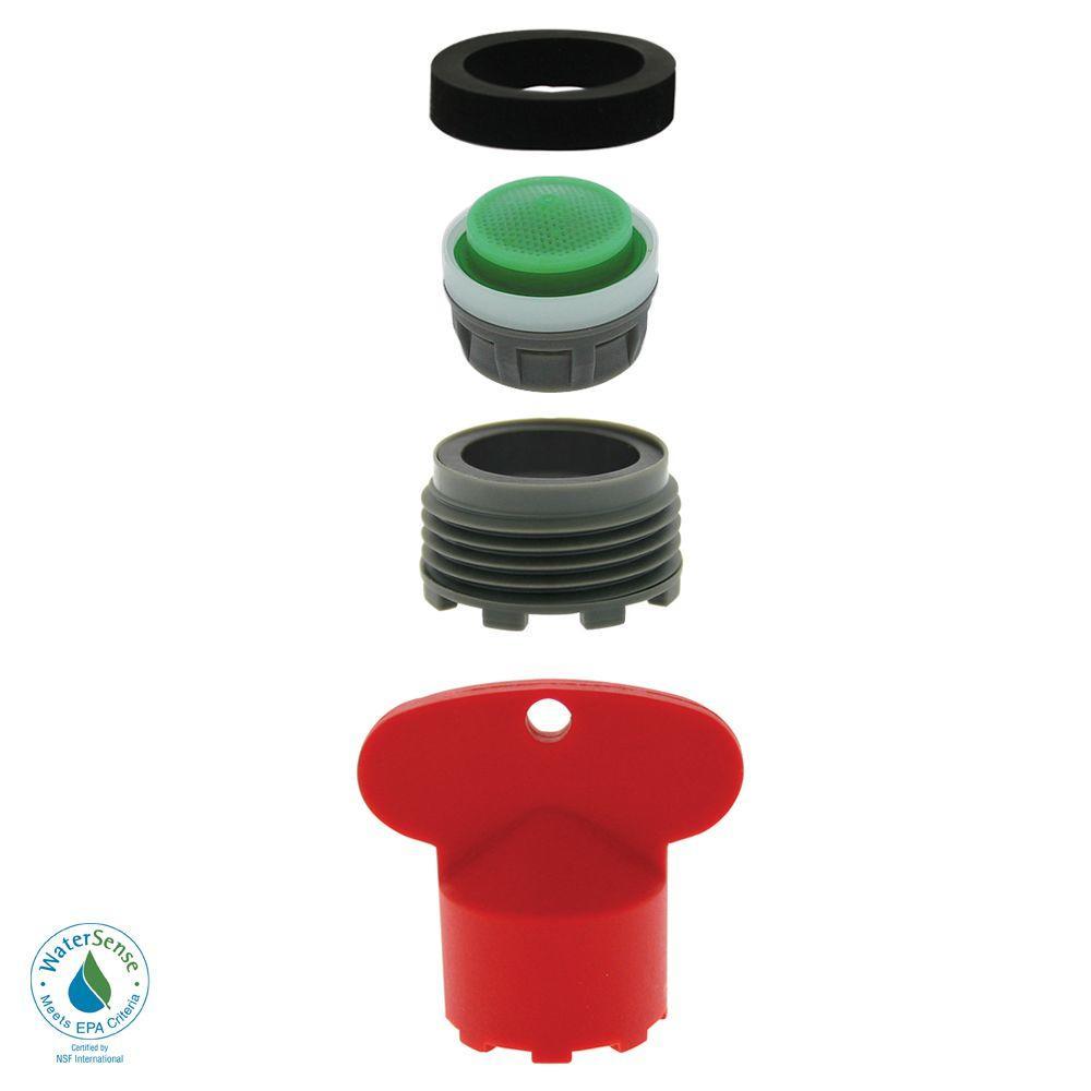1.5 GPM MOEN Cache Water-Saving Aerator Kit with Key