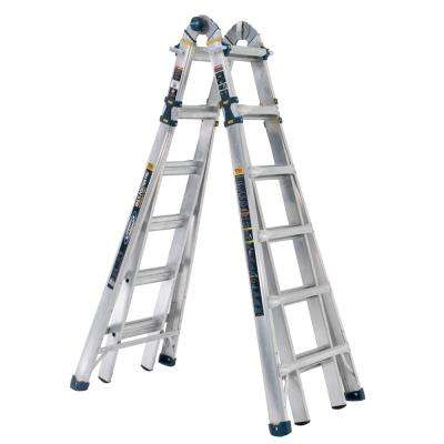 26 Ft Multi Position Ladders Ladders The Home Depot