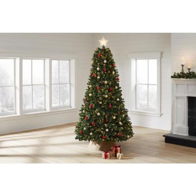 7.5 ft Westwood White Fir LED Pre-Lit Artificial Christmas Tree with 650 Warm White Lights