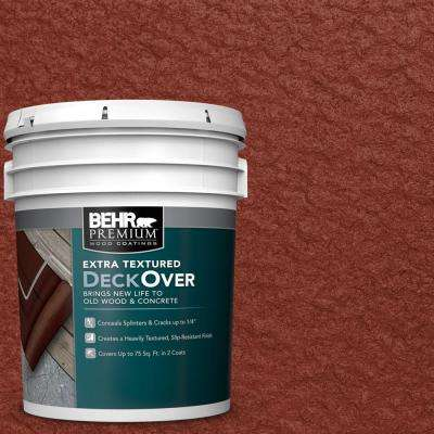5 gal. #SC-330 Redwood Extra Textured Wood and Concrete Coating