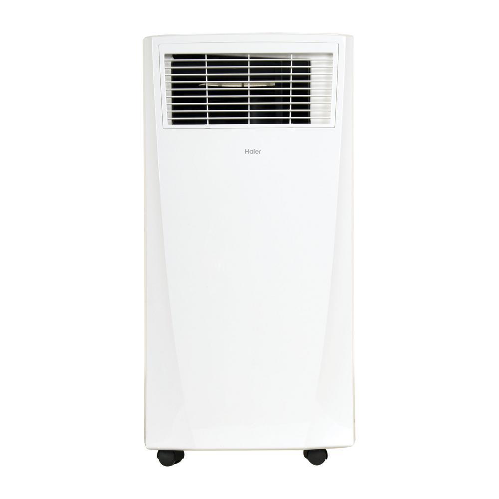 Haier 8,000 BTU (8,000 BTU, DOE) Portable Air Conditioner with Dehumidifier  in White