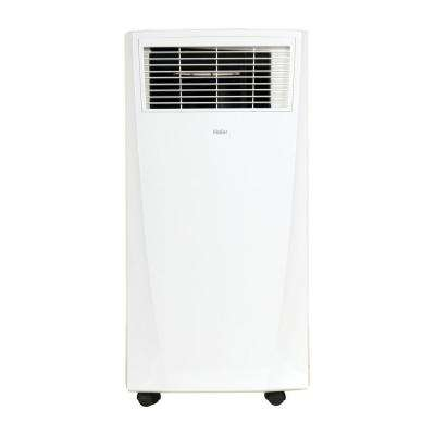 8,000 BTU (8,000 BTU, DOE) Portable Air Conditioner with Dehumidifier in White