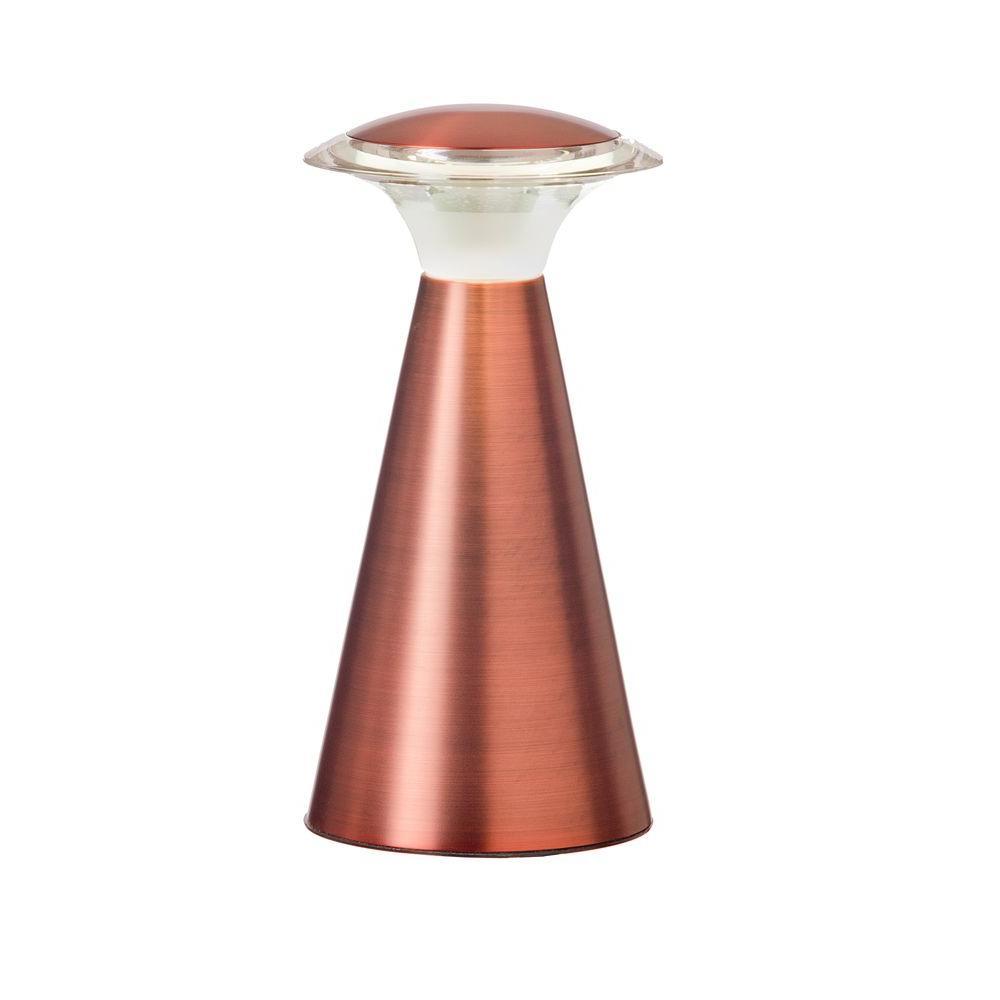 Light It! Copper Lanterna Touch 12-LED Wireless Lamp - Metal