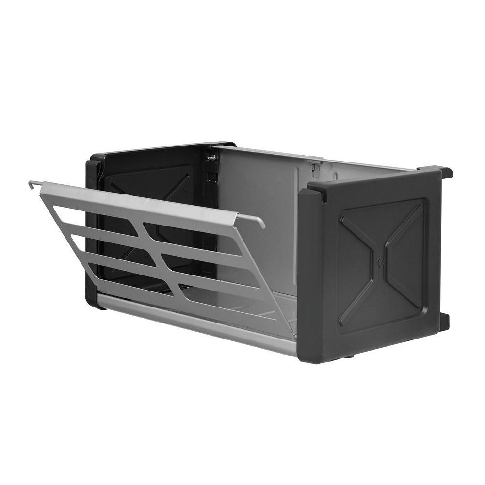 FastTrack Garage 15 in. Access Metal Storage Bin