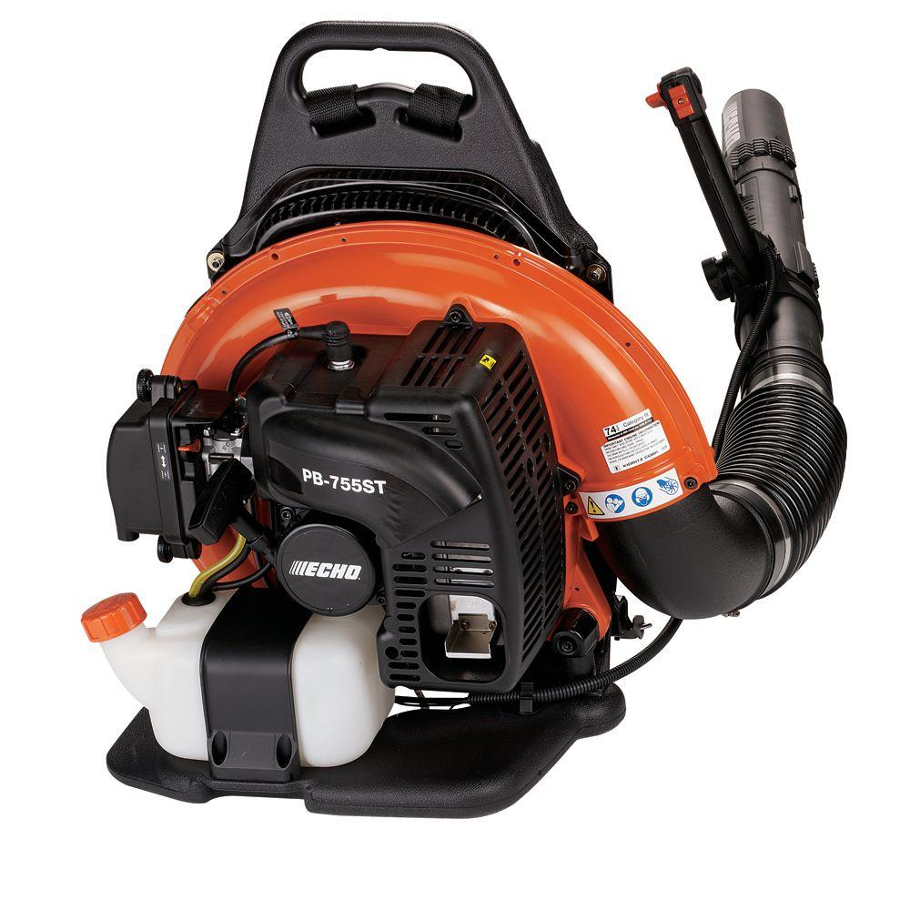 ECHO 233 MPH 651 CFM 63.3cc Gas Backpack Leaf Blower with Tube Throttle