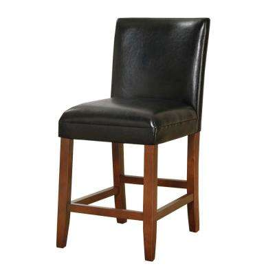 luxury blackless 24 in. Black Bar Stool