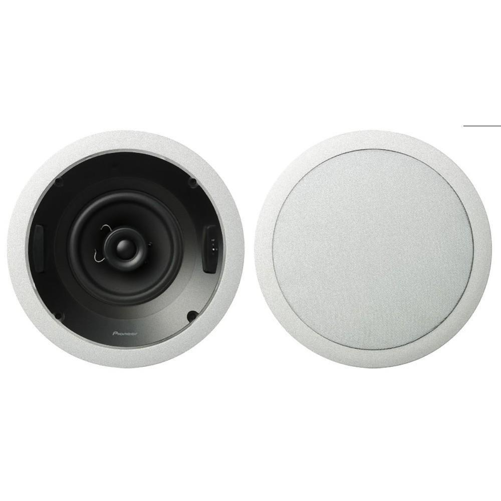 Pioneer 100-Watt 6.5 in. Round In-Ceiling Speaker (Pair)-DISCONTINUED