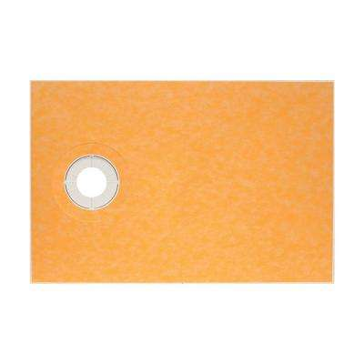 Kerdi-Shower 38 in. x 60 in. Off-Center Shower Tray