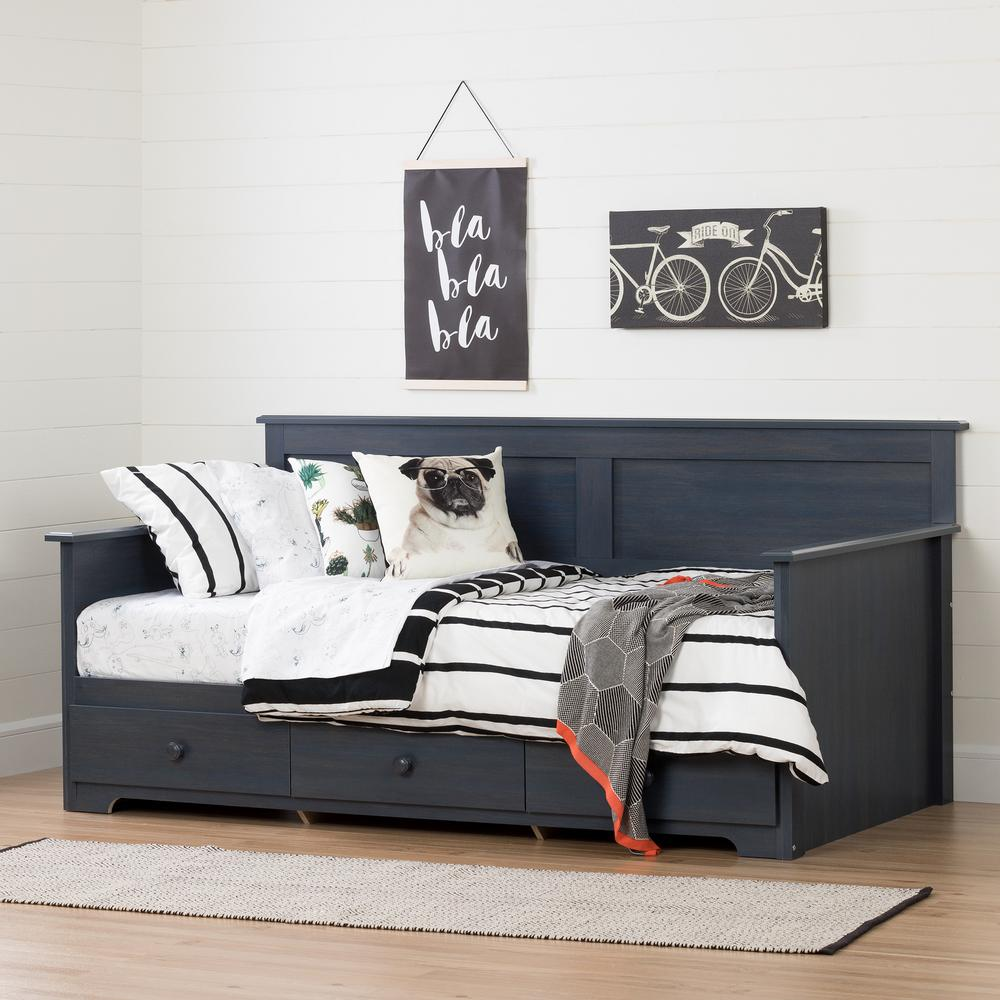 Blueberry Twin Daybed Summer