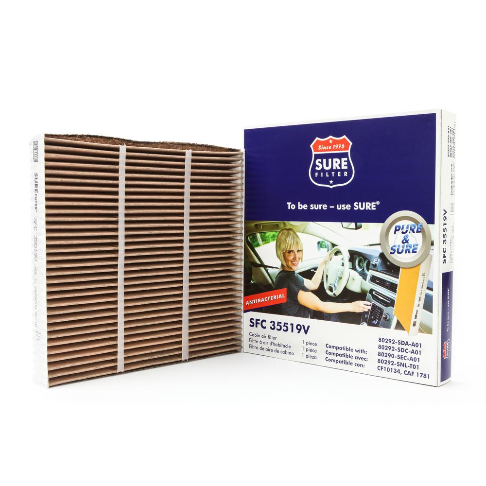 Replacement Antibacterial Cabin Air Filter for Wix 24815 Purolator C35519 Fram