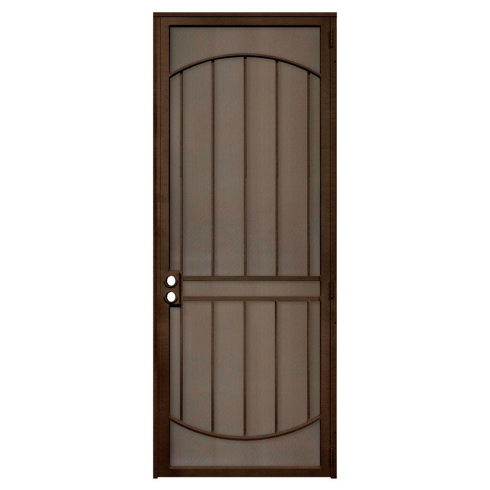 Unique Home Designs 36 in. x 96 in. Arcada Copper Surface ...