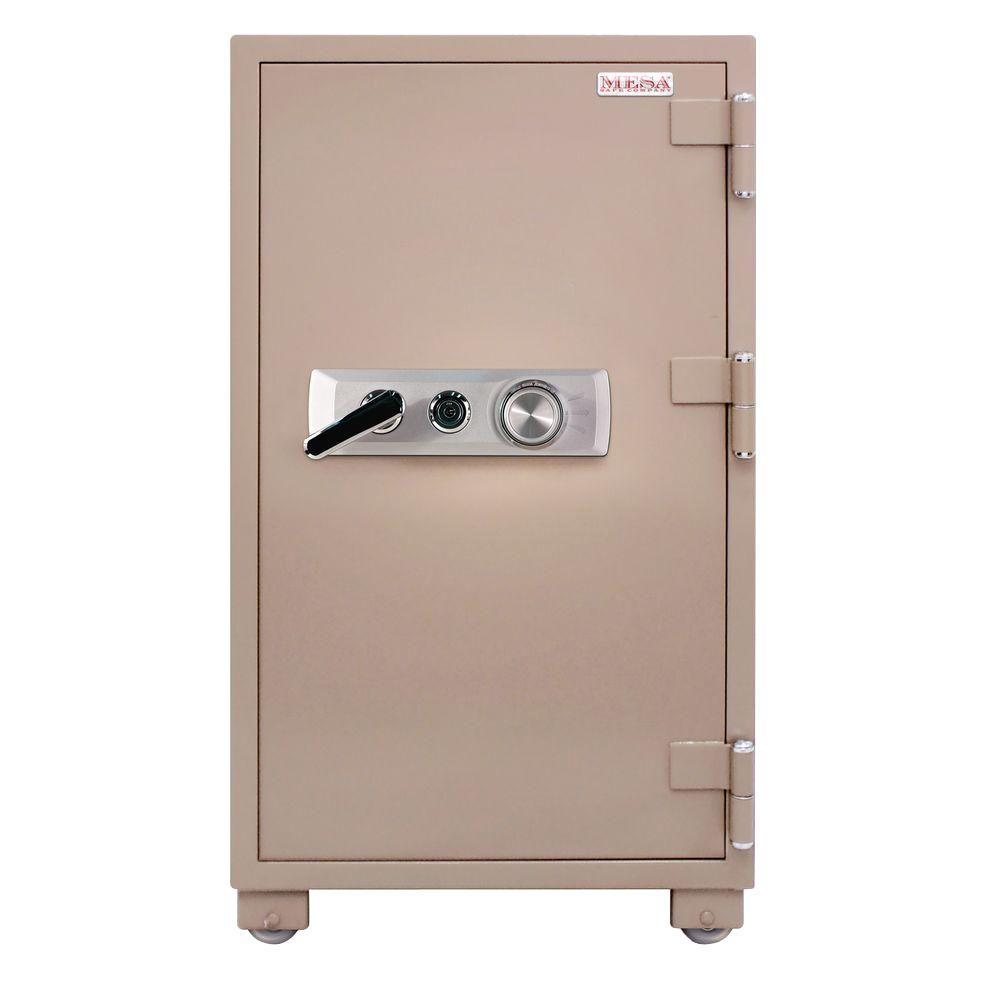 MESA 3.6 cu. ft. Fire Resistant Combination Lock 2 Hour Fire Safe