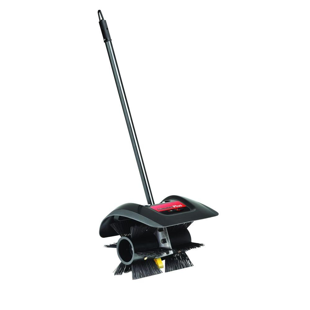 TrimmerPlus Add-On 12 in. Power Broom Attachment