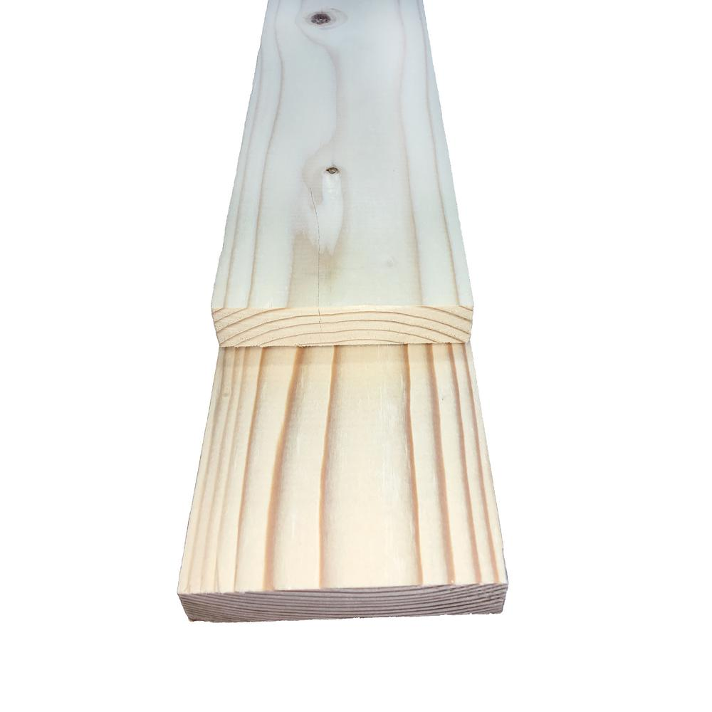1 in  x 4 in  x 8 ft  Furring Strip Board-687642 - The Home