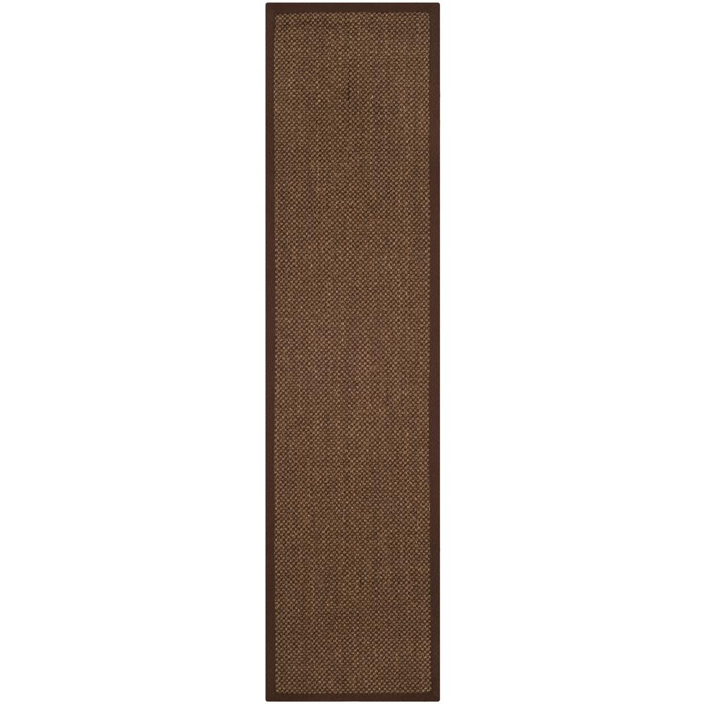Safavieh Natural Fiber Brown 2 ft. x 10 ft. Indoor Runner Rug