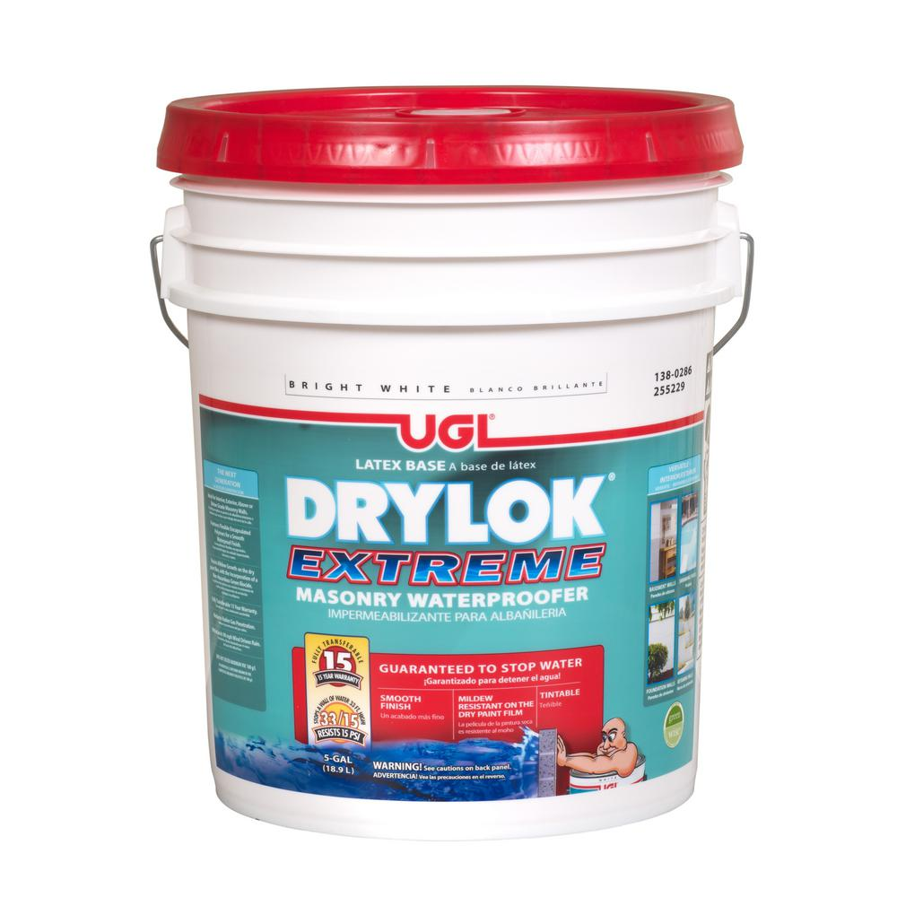 Ugl 1 Gal White Ready Mixed Latex Base Drylok Waterproofer 209160 The Home Depot