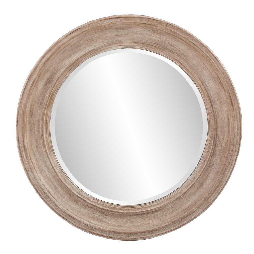 Howard Elliott 36 In X Maisey Rustic Round Mirror