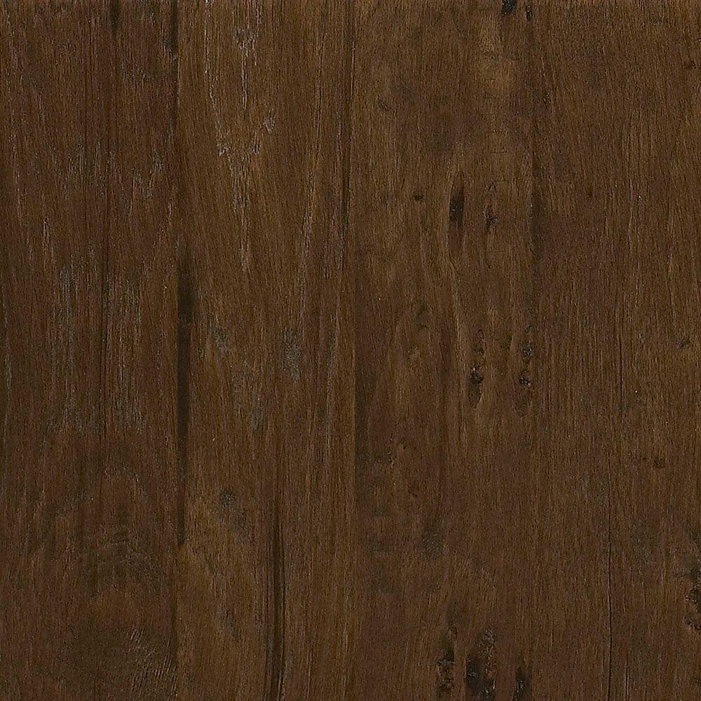 Take Home Sample Western Hickory Saddle Tongue And Groove Hardwood Flooring 5 In X 8