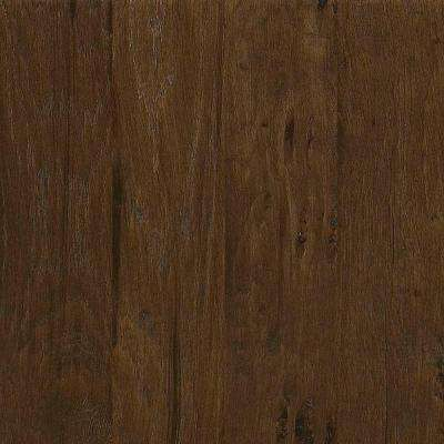 Take Home Sample - Western Hickory Saddle Tongue and Groove Hardwood Flooring - 5 in. x 8 in.