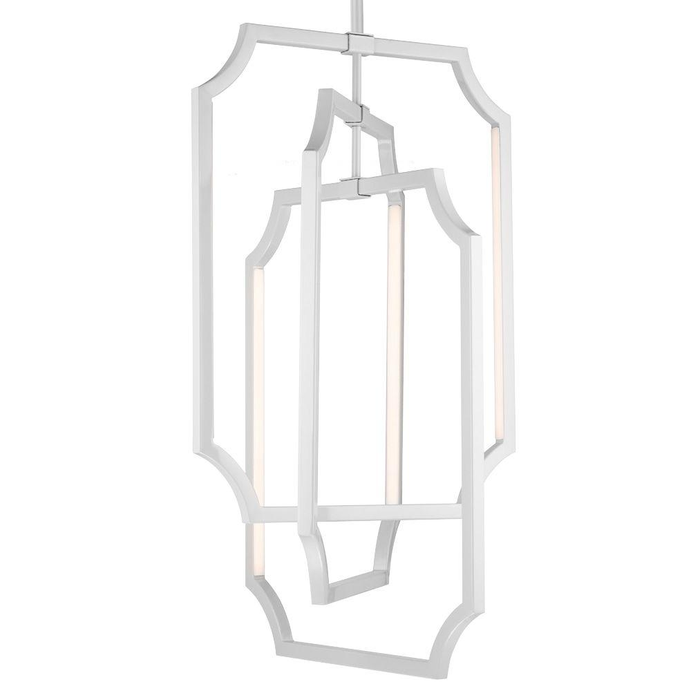 Feiss Audrie Hi Gloss Grey Large Pendant