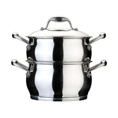 Essentials 4.1 Qt. Stainless Steel Covered Steamer